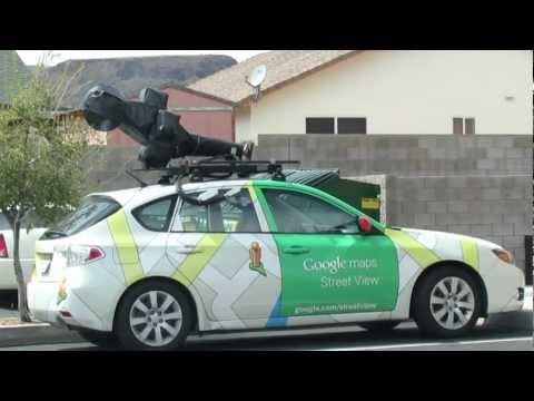 Google Maps Street View Camera Car spotted at Starbucks