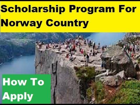 Norway Scholarship -  Program For International Students