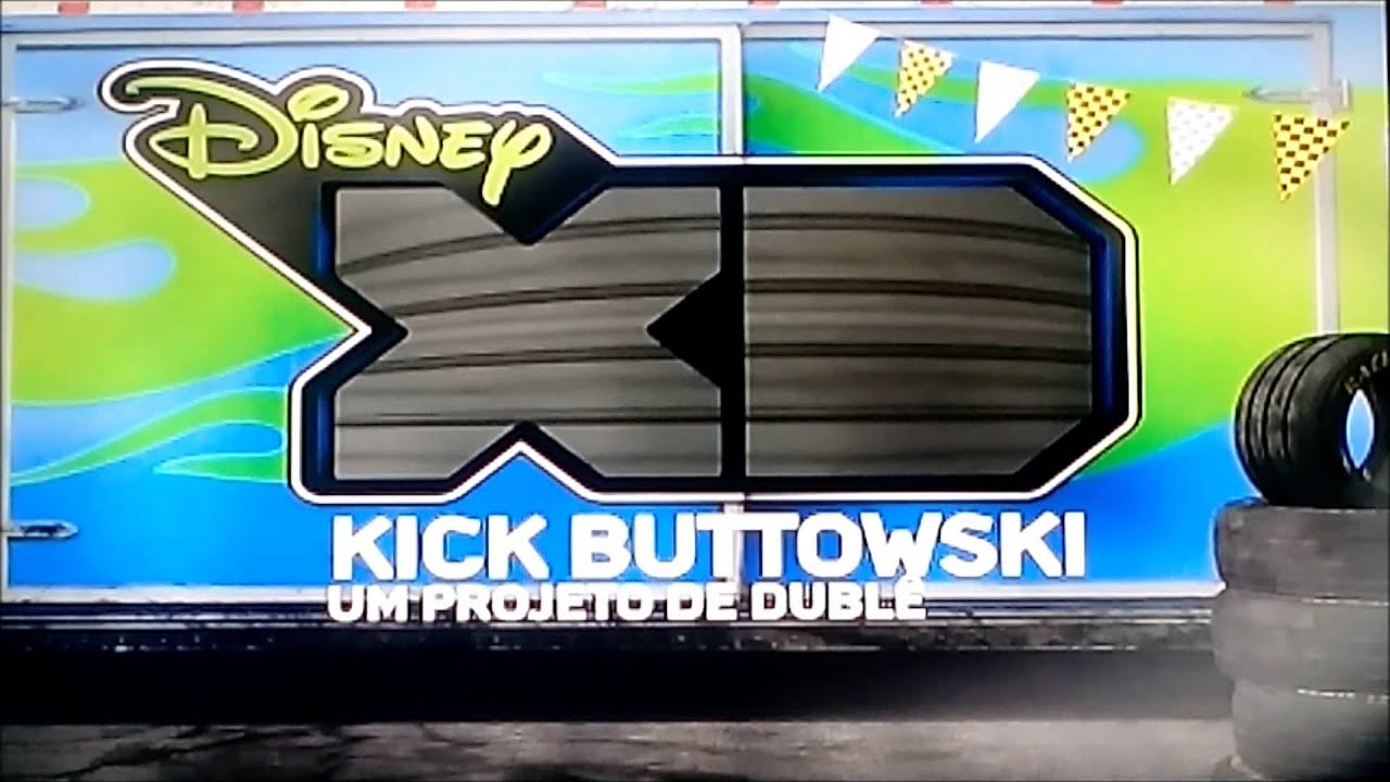 Disney Xd Bumpers 1 : Bumpers kick buttowski disney xd brasil youtube