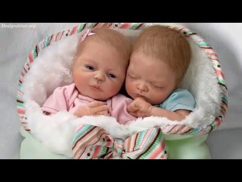Madison And Mason Lifelike Twin Baby Doll Set