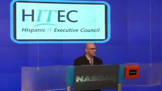 The Hispanic IT Executive Council (HITEC) introduced at the NASDAQ opening bell