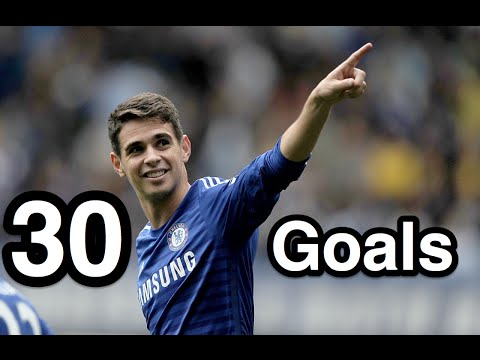 Oscar - First 30 Goals for Chelsea FC - HD