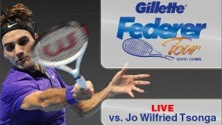 Encuentro Bancolombia Federer vs. Tsonga, Colombia