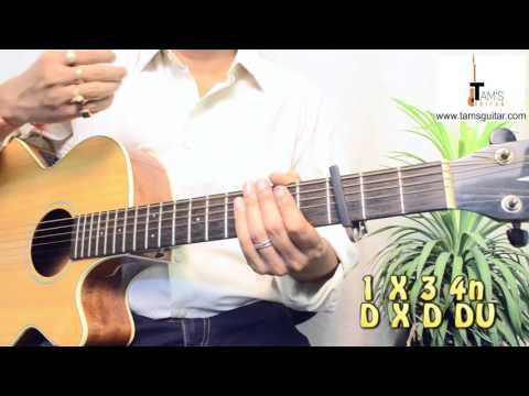 Ikk kudi (Udta Punjab) guitar lesson chords |www.tamsguitar