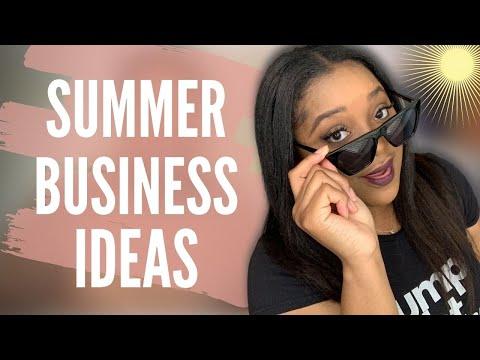 7 *LITTLE KNOWN* Summer Business Ideas | Side Hustle Ideas | Seasonal Small Business Ideas