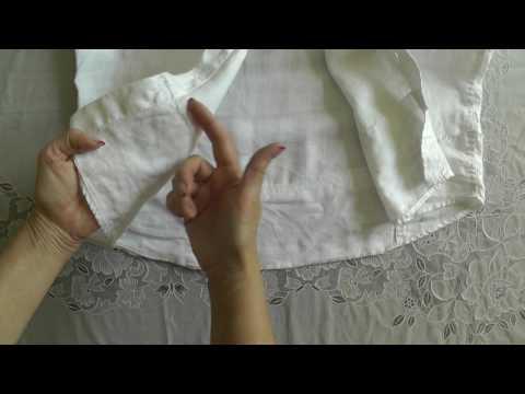 Укорачиваем рубашку оригинальным способом