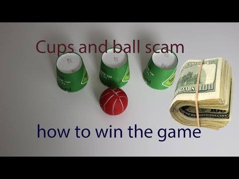 Cups and ball scam