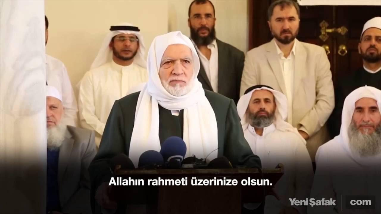 Müslüman alimlerden Türkiye'ye destek açıklaması