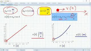 равноускоренное и равномерное прямолинейное движение (ЕГЭ-1-1-5 и 6, ОГЭ-1-3)