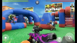 Paintball Xtreme War 2019: Real Combat Shooting - Trailer Gameplay Game (Android, iOS) HQ