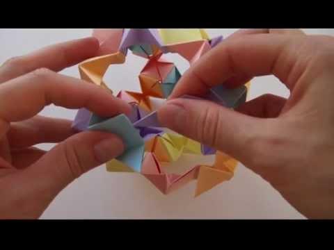 Кусудама оригами | Волшебный