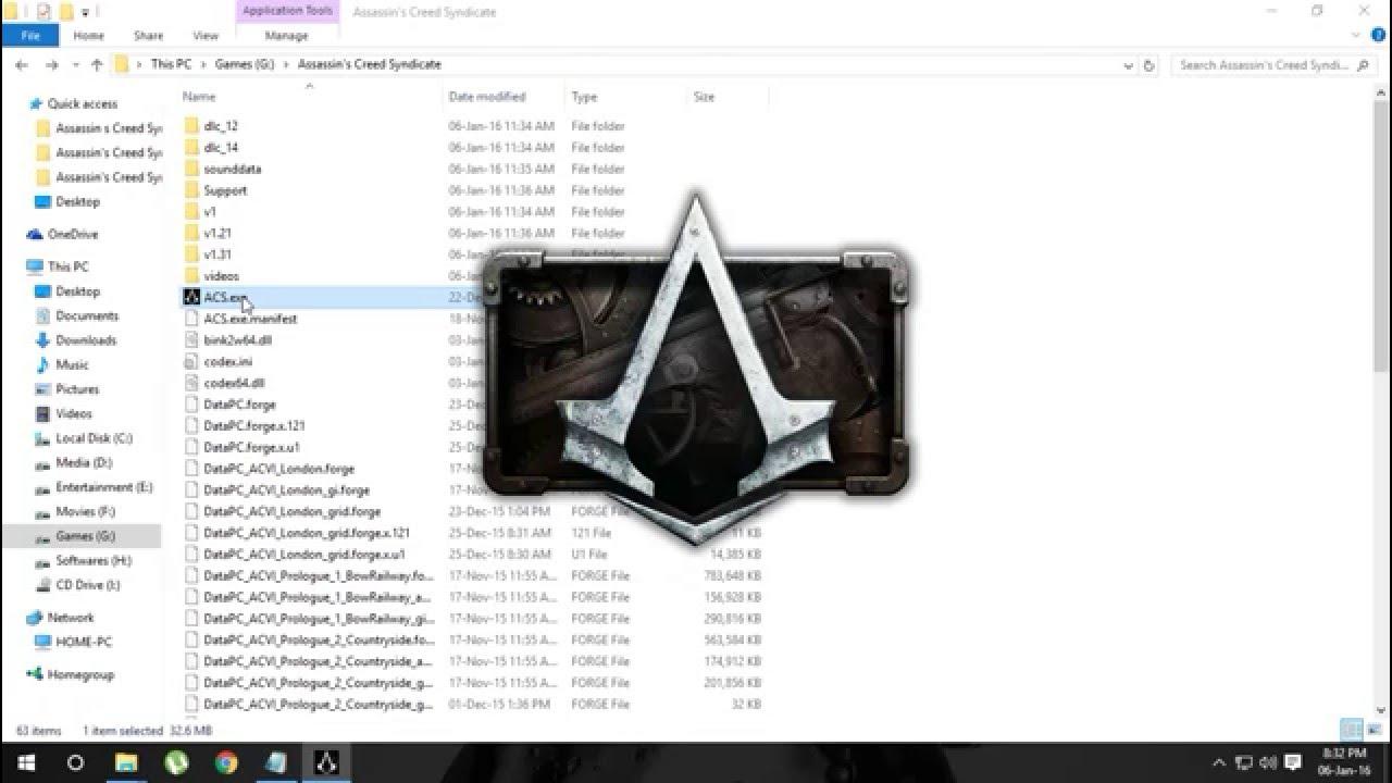 Assassins creed 3 ini файл скачать