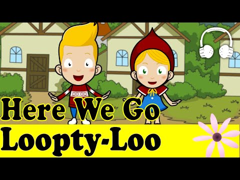 Here We Go Loopty-Loo | Family Sing Along - Muffin Songs