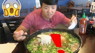 The MASSIVE Pho Noodle Soup Challenge!!!