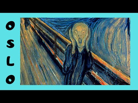 OSLO: The famous painting of 'THE SCREAM' by Edvard Munch, National Gallery (NORWAY)