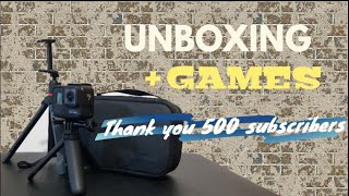 #unboxing Happy 500 subscriber