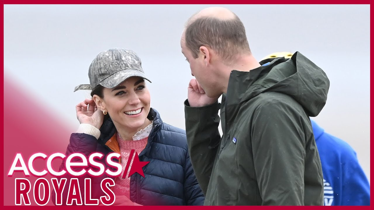 Prince William & Kate Middleton Smile Lovingly At College Town Where They First Met
