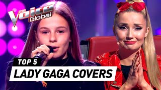 BEST LADY GAGA covers in The Voice Kids