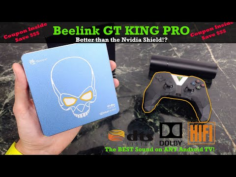 Beelink GT King Pro 4K Review : Best Android TV Box Of 2020