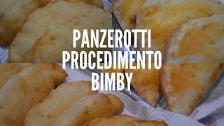 Panzerotti fritti o al forno Bimby