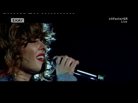 XFactor Greece 2017 Live 8 - CREEP - Tamta