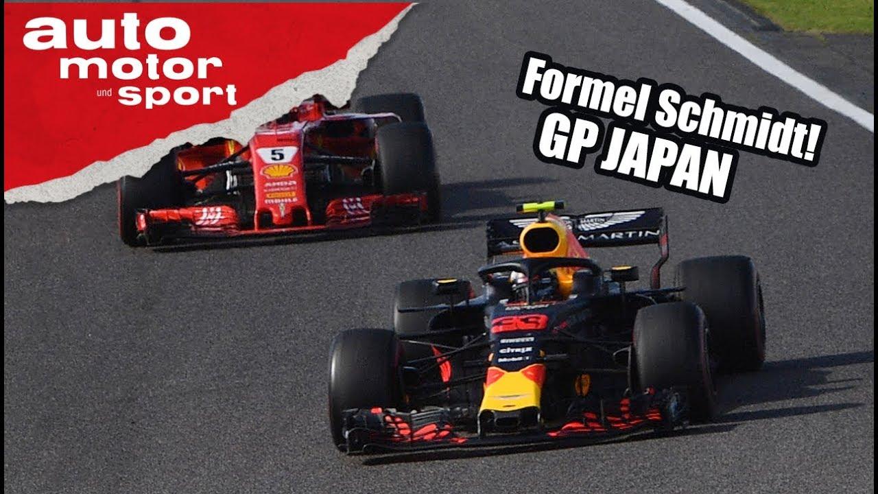 Verstappen mischt Ferrari auf - Formel Schmidt zum GP Japan | auto motor und sport