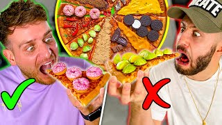 THE BEST 'PIZZA SLICE ROULETTE' CHALLENGE ON THE INTERNET