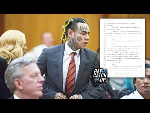 6IX9INE Guilty Plea Paperwork Public, Proves he Co-Operated with Government and Informed on Tr3yway