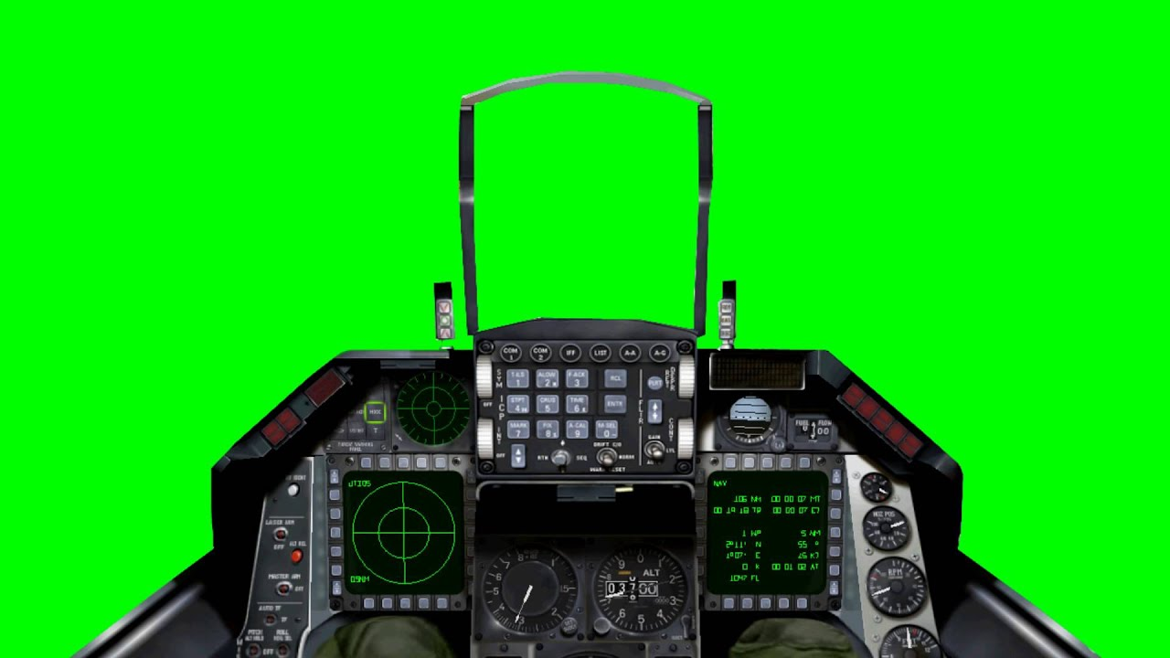 jet cockpit view freehdgreenscreen footage youtube