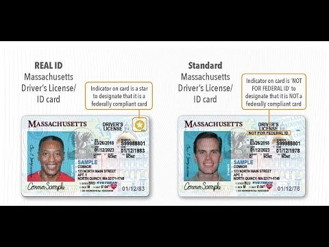 Changes - Massachusetts Youtube Id Rmv Real Standard Vs