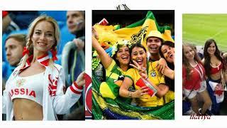 Уникальный ЧМ-2018 по футболу Стадионы и весёлые Болельщицы / FIFA World Cup 2018 RUSSIA (HD)