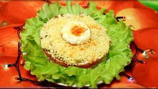 Нереально Вкусный салат из остатков еды | ОЧЕНЬ ПРОСТОЙ
