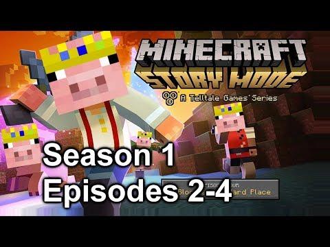 door simulator 2000 (Minecraft Story Mode Season 1 Episodes 2-4)