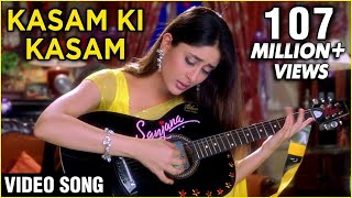 Gambar cover Kasam Ki Kasam - Lyrical | Main Prem Ki Diwani Hoon | Shaan Songs | Kareena Kapoor Songs