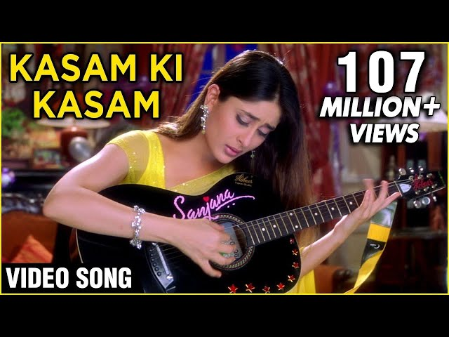 Kasam Ki Kasam - Lyrical | Main Prem Ki Diwani Hoon | Shaan Songs | Kareena Kapoor Songs