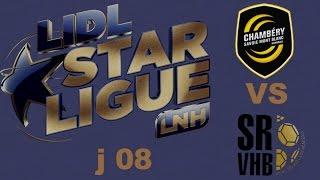 Chambéry VS Saint Raphaël Handball LIDL STARLIGUE j08