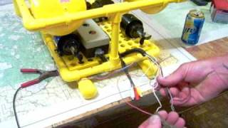 Home-built underwater ROV-Progress