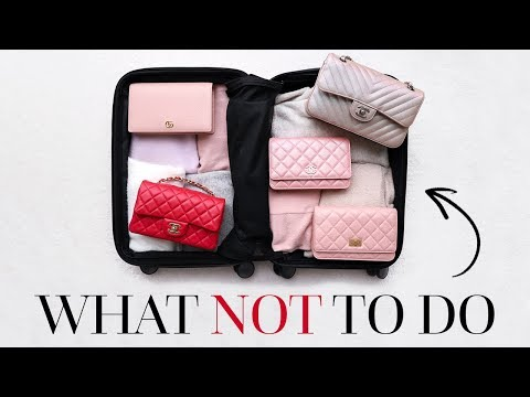 TRAVELING WITH LUXURY   HOW TO PACK & WHAT NOT TO DO