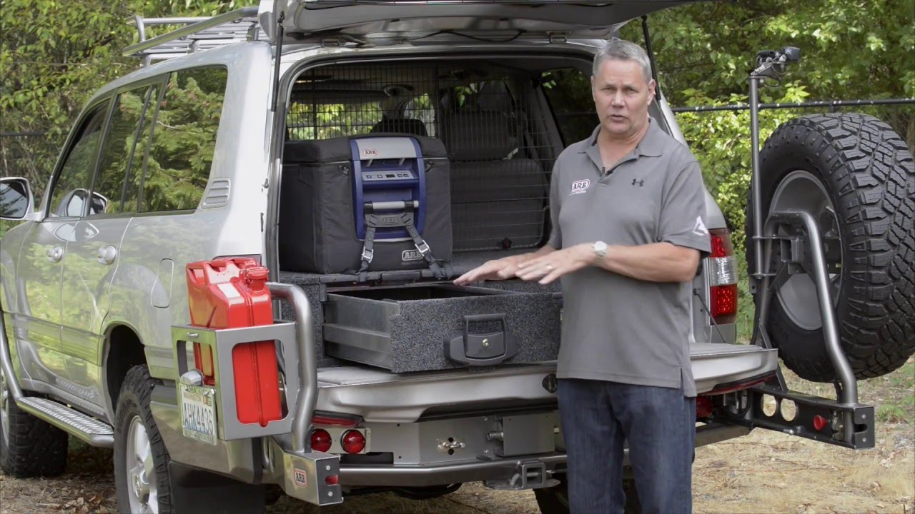 Arb Outback Solutions Roller Drawers Youtube