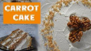 Морковный торт без МУКИ,САХАРА и МАСЛА /ПП