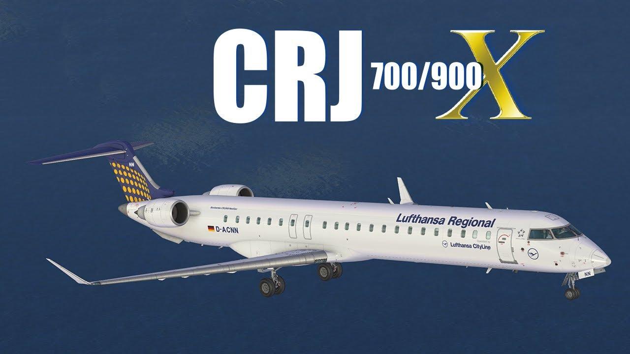 CRJ 700/900 X – Official Video