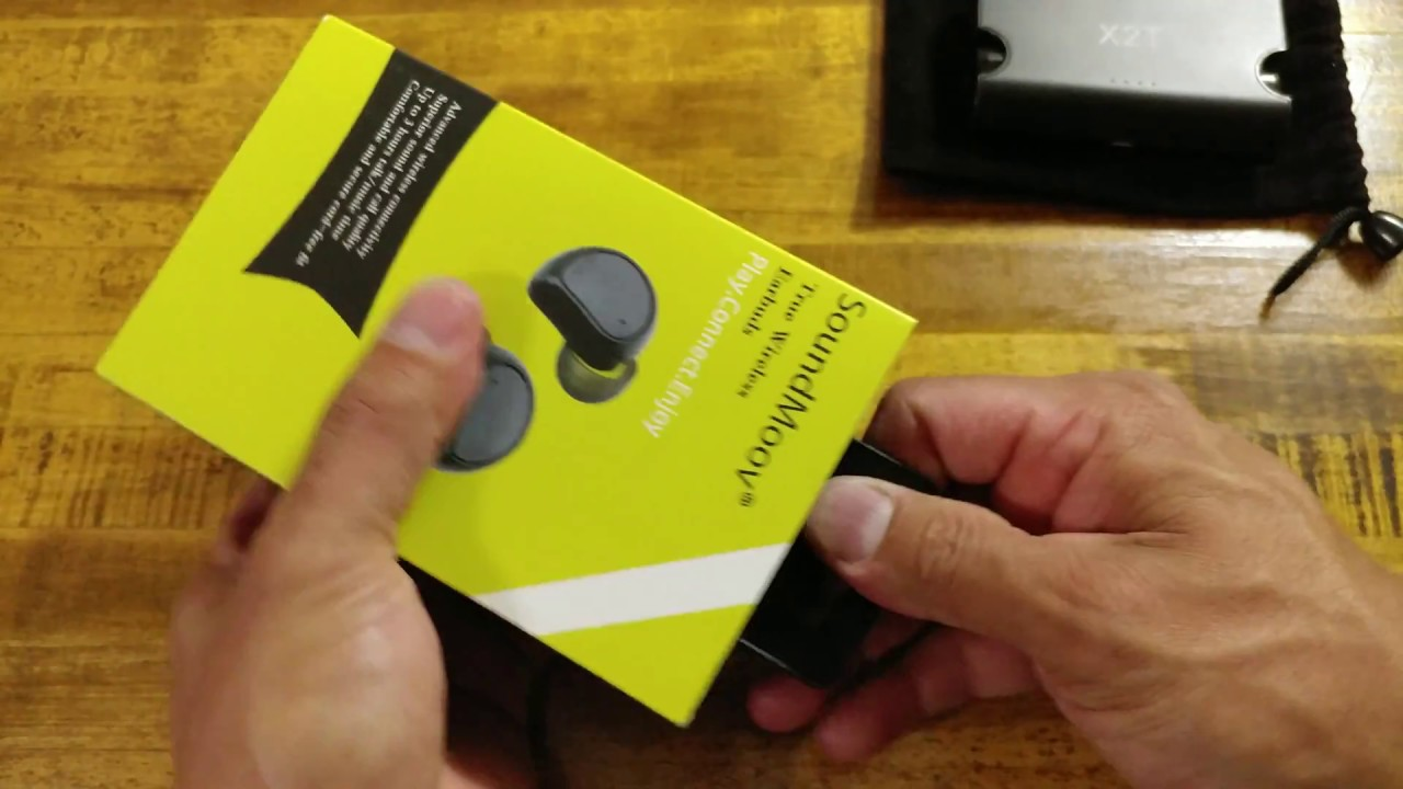 27ff05ca3be SoundMoov Truly Wireless Earbuds - YouTube
