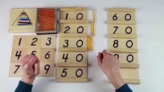 Curso Matemáticas Montessori: vídeo-lección 9:  TABLAS DE SEGUIN