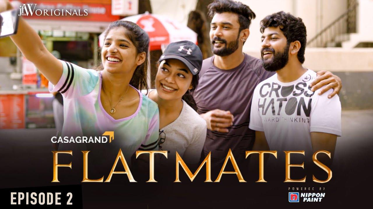 Flatmates | Episode 2 | Tamil Web Series | ft Dipshi Blessy Akash Premkumar Karthik Baskar | JFW