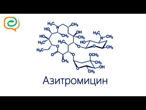 По-быстрому о лекарствах. Азитромицин