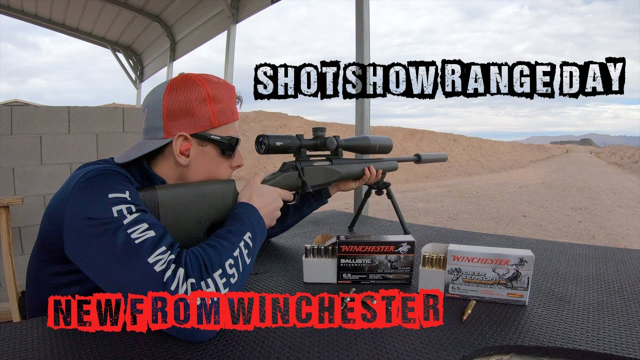 2020 SHOT Show Range Day | New from Winchester | Gould Brothers