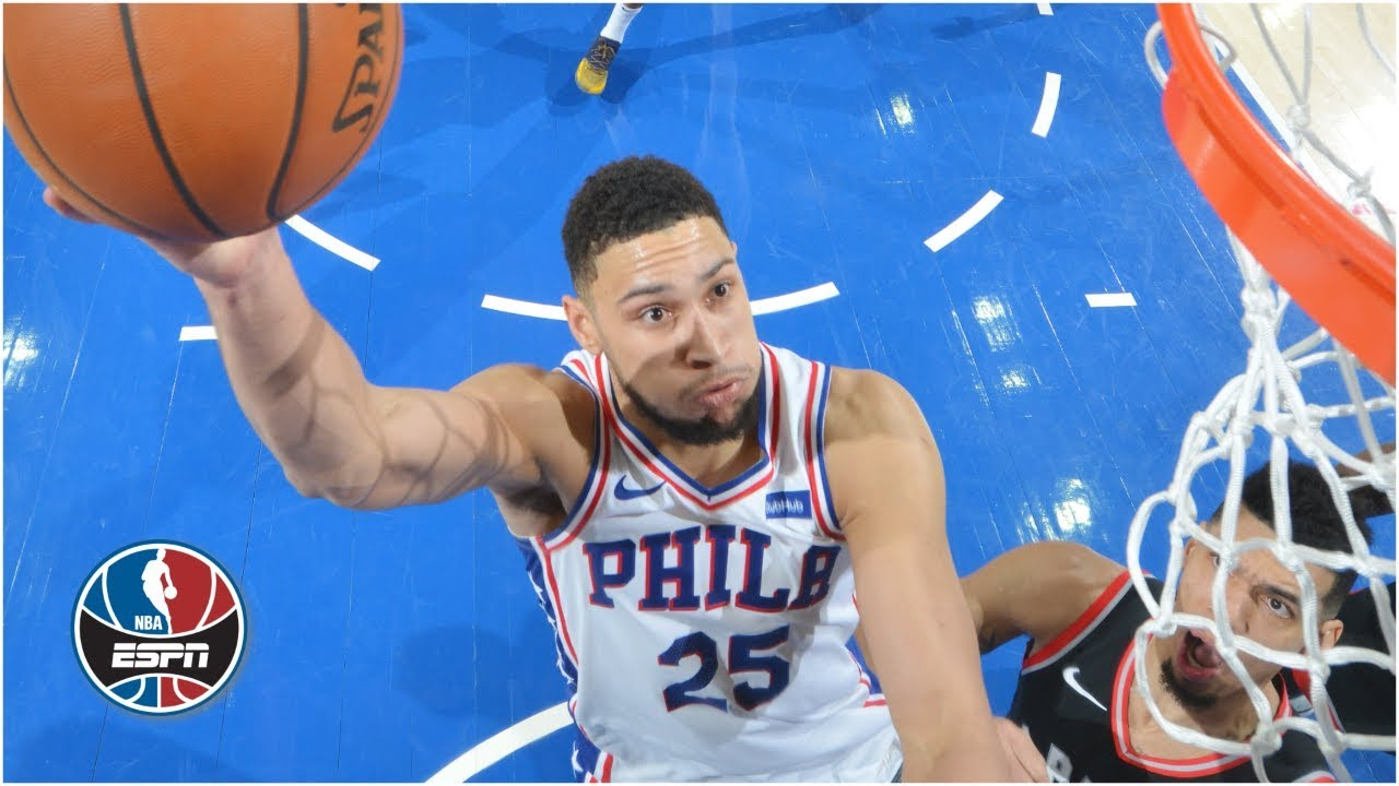 Ben Simmons and Joel Embiid power 76ers to victory vs. Raptors | NBA Highlights