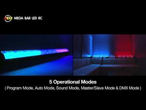 American DJ Mega Bar LED RC