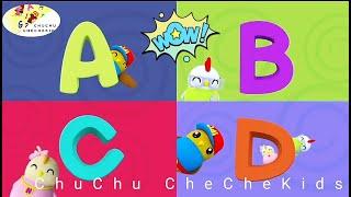 ABCD CARTOON SONG   Songs of Body Parts, Kids Daily Routine School Bango Bridge  ChuChu CheCheKids
