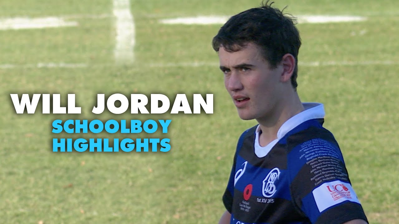 Download The game where a 17-year-old Will Jordan could not be stopped | Rugby Highlights